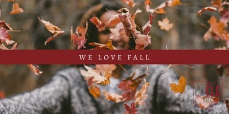 October – We Love Fall