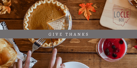 November – Give Thanks!